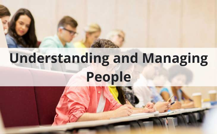 Understanding and Managing People